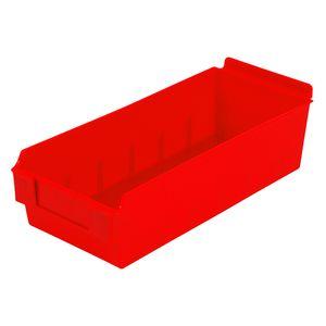 Red, Shelfbox Long 300 Display