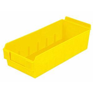 Yellow, Shelfbox Long 300 Display