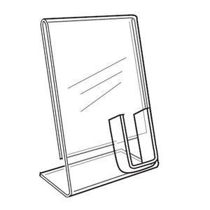 "Signholder with Cellphone Pocket, 8-1/2"" x 11"""