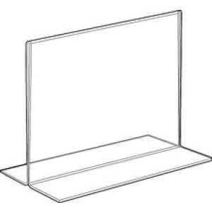Acrylic Two Sided, Bottom Loading Sign Holders - 701160