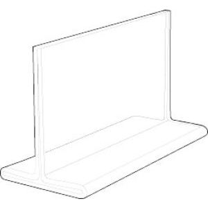 Acrylic Two Sided, Top Loading Sign Holders - 701184