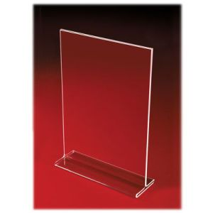 Acrylic Two Sided, Top Loading Sign Holders - 701194