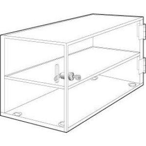 "Horizontal Locking Acrylic Countertop Showcases, 20"" x 10"" x 12"""