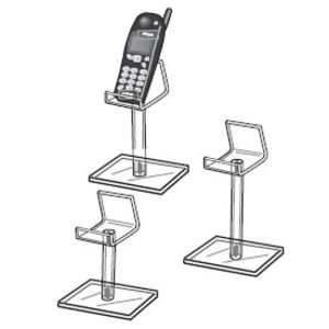 "6"" Cellphone Pedestal"