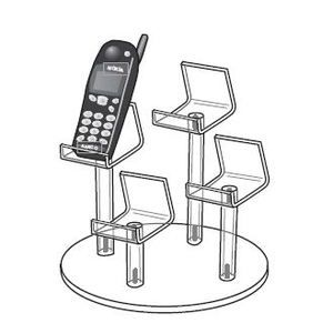4 Group Cellphone Pedestal