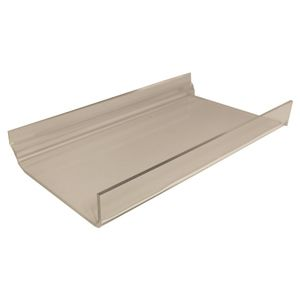 "Slatwall Shelves with lip, 4"" x 9"""