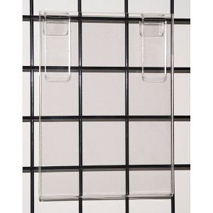 Gridwall Acrylic Vertical Sign Holders