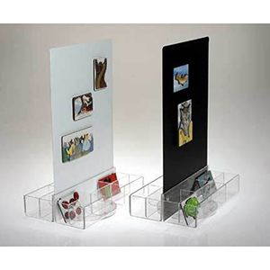 Counter Magnet Display with trays - Black