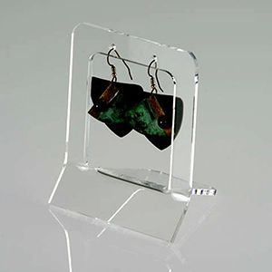 Arcylic Small Earring Easel single pair