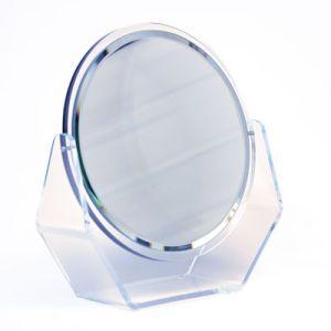 "Acrylic Beveled Glass Counter Mirror, 8-1/8"" x 7"" x 2-1/2"""