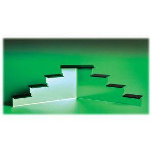 "Acrylic Mini Platform Stairs, 4-1/8"" x 14-3/4"" x 5-1/4"""