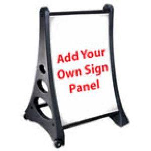 QLA© Quick Load Rolling A Frame Sidewalk Signs - 70V7013QLA-GI