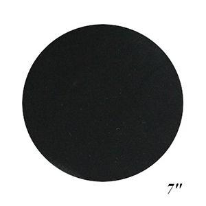 "7"" Black, Jewelry Circle Display Pads"