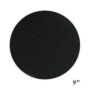 "9"" Black, Jewelry Circle Display Pads"