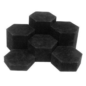 Black Velvet, Hexagon Riser Set
