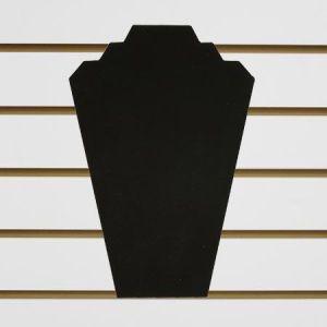 """Jewelry 2 Necklace Display, Black Velvet, 8"""" x 12"""""""