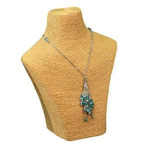 Gold Polystyrene Small Bust, Necklace Jewelry Displays