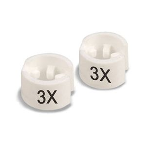 """""""3X"""" Mini Size Markers for Hangers"""