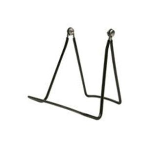 """Wire Vinyl Coated Easels, Black, 4.5"""" x 5.5"""""""