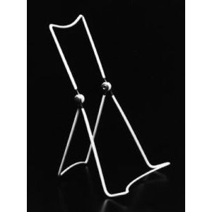 """Wire Vinyl Coated Easels, White, 8.75"""" x 5.5"""""""