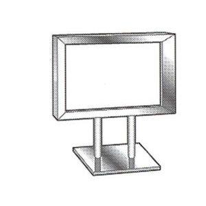 Counter Top Metal Card Frames - 797201