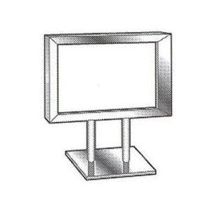 Counter Top Metal Card Frames - 797202