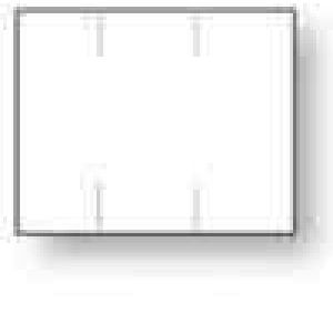 Monarch 1115 Labels, White, Removable Adhesive