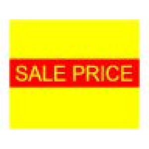 Monarch 1115 Labels, Yellow SALE PRICE