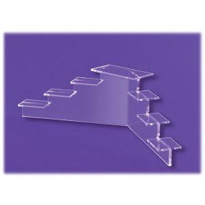 Acrylic Mini-Platform Stairs