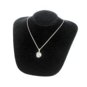 Black, Small Necklace Bust Display