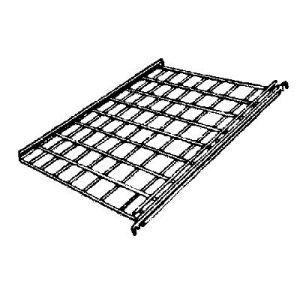 """Chrome, Gridwall Flat Wire Shelf , 24"""" x 24"""""""