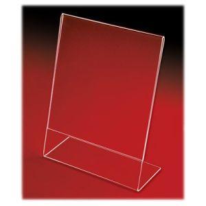 Acrylic Slant Back Countertop Sign Holders - 701103