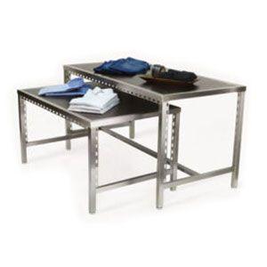 "48"" Pearl District Nesting Tables, Blakewood Black & Aspen"