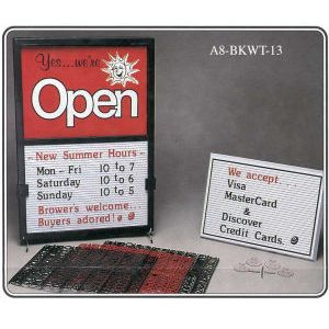 Open Closed Sign - 7021F