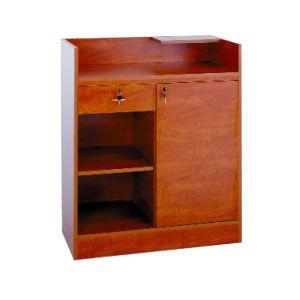 "36"", Cherry/Gold Frame, Cash Wrap Cabinet"