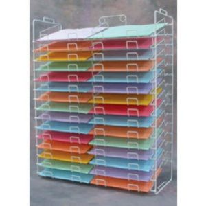 """Paper Rack Tower Display, for 12"""" x 12"""""""