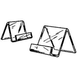 "Acrylic Countertop Easel, 5.5"" x 6"""