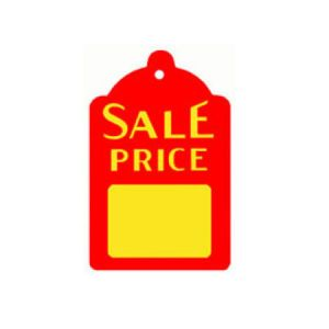 """Strung Sale Price Tags, 1-5/8"""" x 2-3/4"""""""