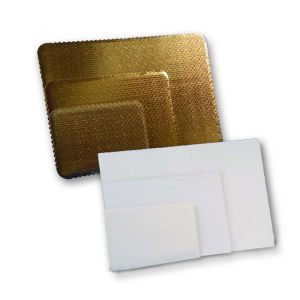 White, Rectangle Cake Pads