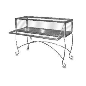 Free Standing Jewelry Contemporary Display Case