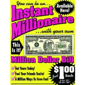 Million Dollar Bill - A999