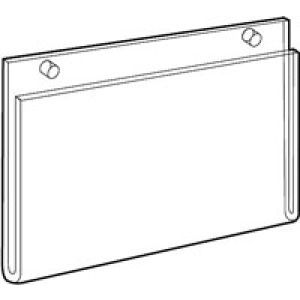 Acrylic Sign Holders for Wallmount Extra Large - 701399