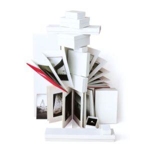 "White Swirl Jewelry Boxes, 3-1/2"" x 3-1/2"" x 7/8"""