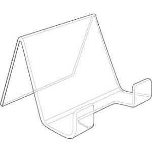 "Acrylic Dinnerware Plate Holder, 3"" x 3.75"""