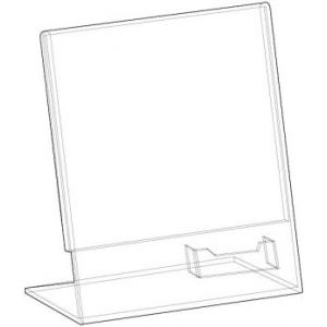 Acrylic Specialty Sign Holders - 701079