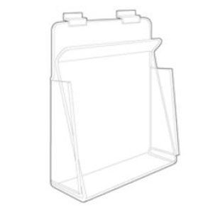 """Acrylic Display Holders for Packaged Items for Slatwall Closed Sided, 4-1/2"""" x 4-1/8"""""""