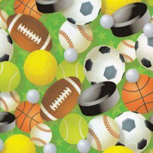 Masculine & Sports Gift Wrap, Sports Star, Process
