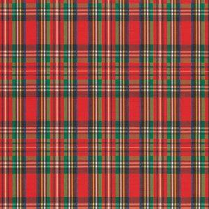 Tartan Kilt Plaid, Christmas Patterns Gift Wrap
