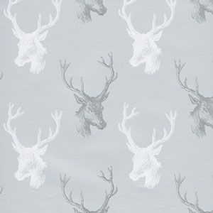Draft Deer, Deer, Antlers, Metallized, Holiday Animal Gift Wrap