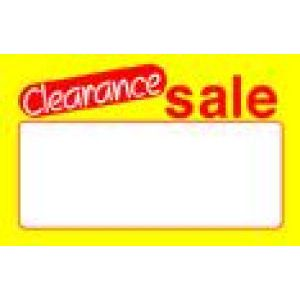 Yellow Clearance - 72040943